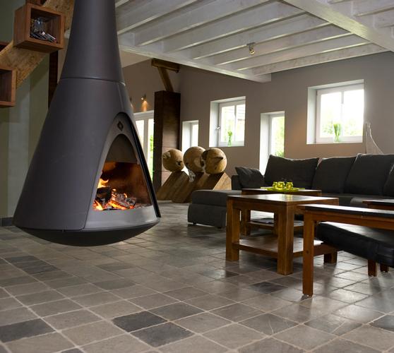 po les bois les designers du feu. Black Bedroom Furniture Sets. Home Design Ideas